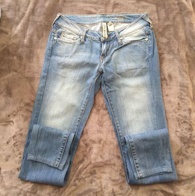 Mango Light Washed Skinny Jeans