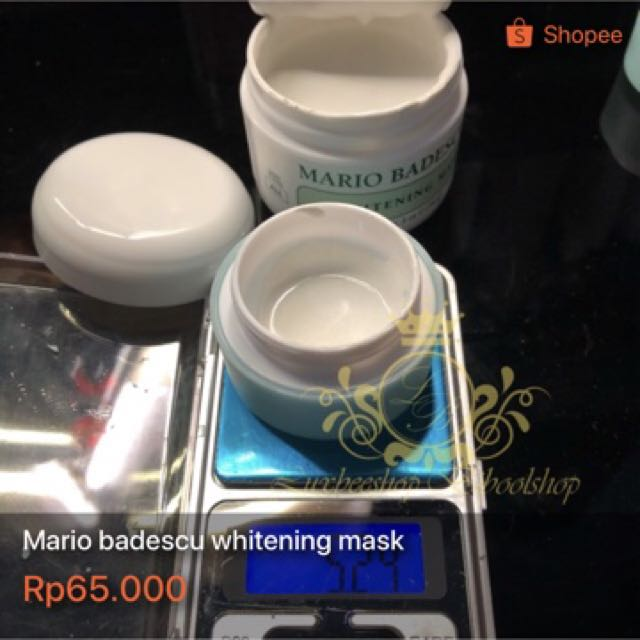 Mario badescu whitening mask share in nat