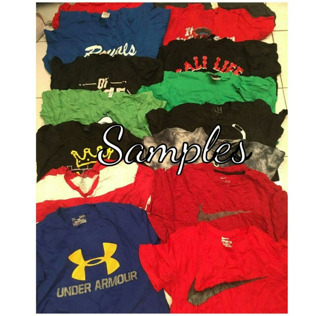 Men's Tshirt Bundle 180 pcs