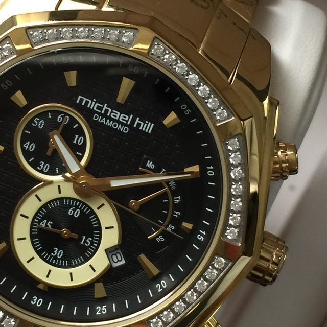 Michael Hill Gold Diamond Watch [AUTHENTIC]