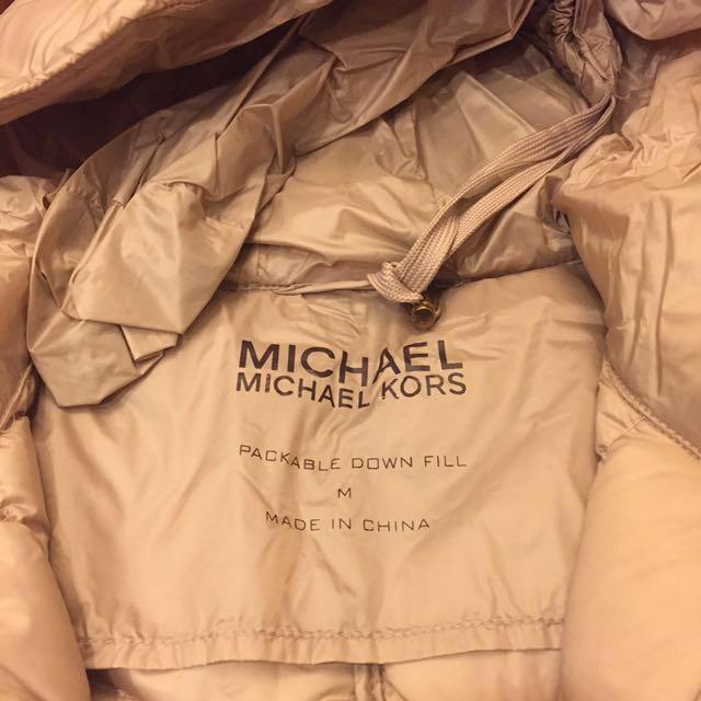 全新MICHAEL KORS保暖羽絨外套