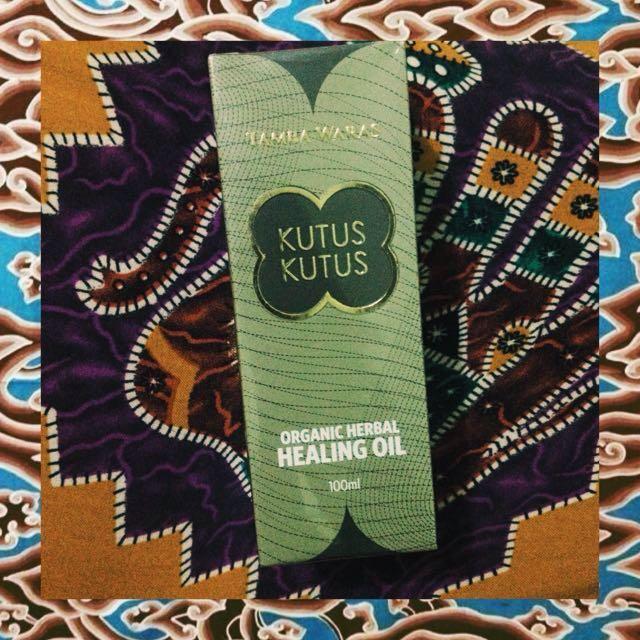 Minyak kutus-kutus (Organic Herbal Healing Oil)