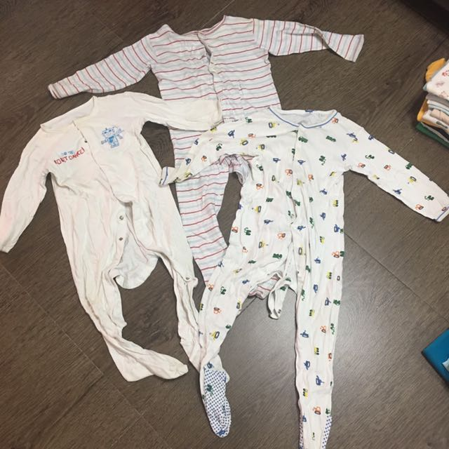 82a6d1193 Mothercare Sleepsuits Baby Boy Sleepwear Romper Nightwear Night Sleep Wear  Pajamas Pyjamas
