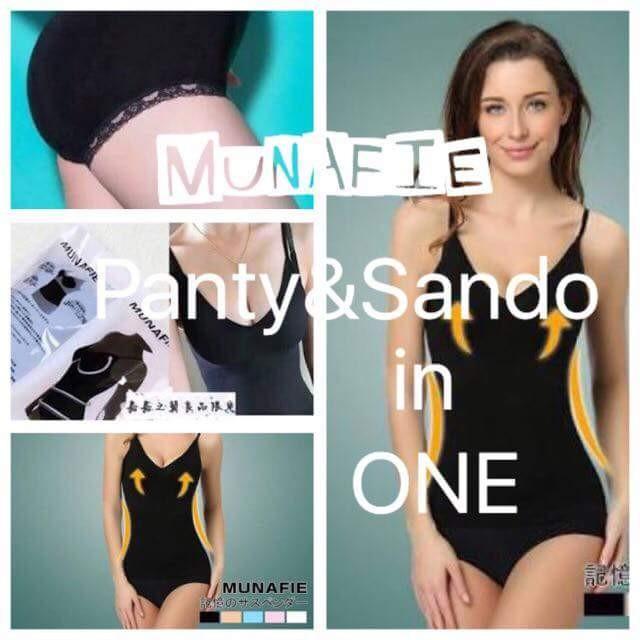 MUNAFIE PANTY & SANDO SET