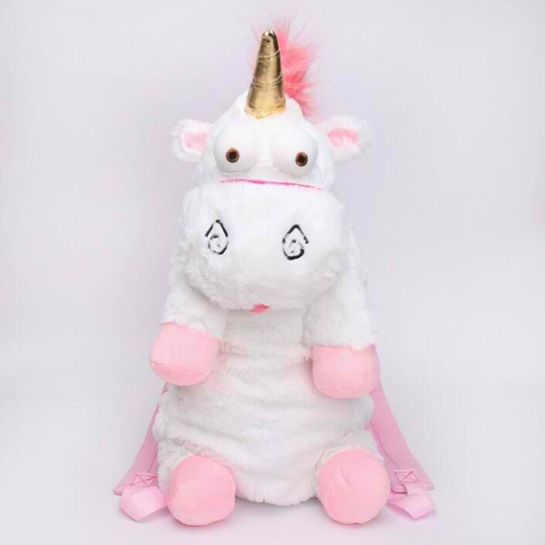 Mythical Unicorn Kids Plush Backpack