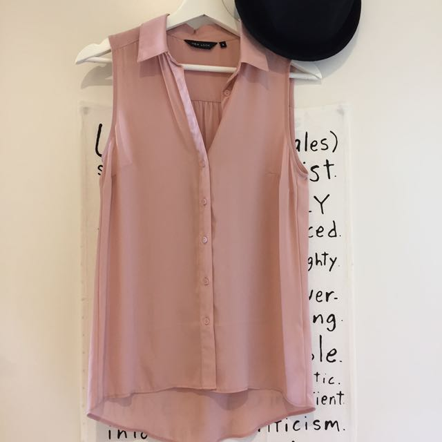 New Look blush top