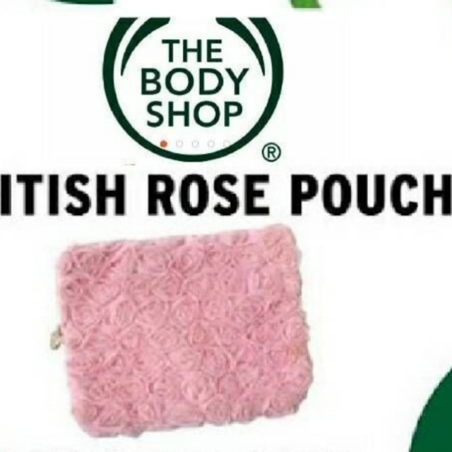 NEW The Body Shop British Rose POUCH