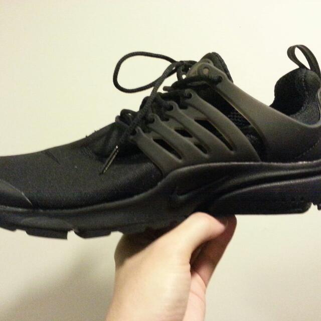 Nike presto 全黑魚骨 全新正品 Size:9
