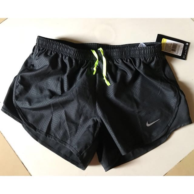 Nike women running short (as modern embossed tempo)