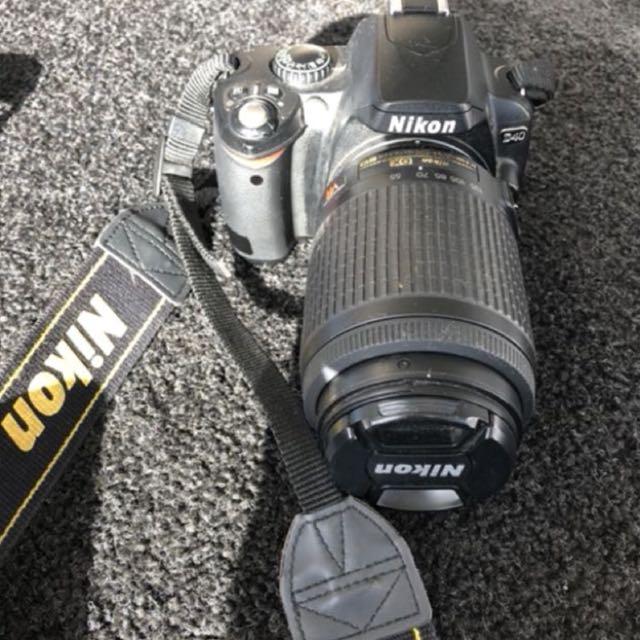 Nixon camera + short and long lense