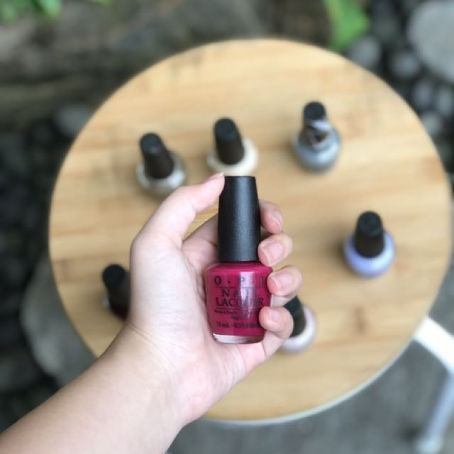 OPI Nail Lacquer in miami beet