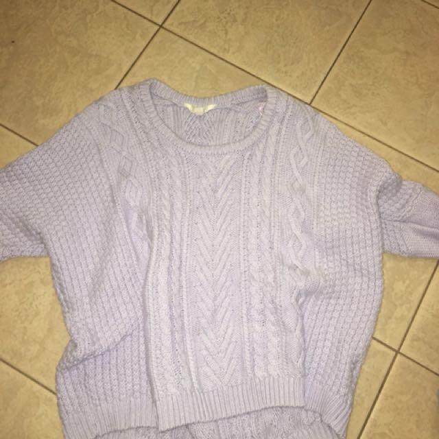 Over size jumper