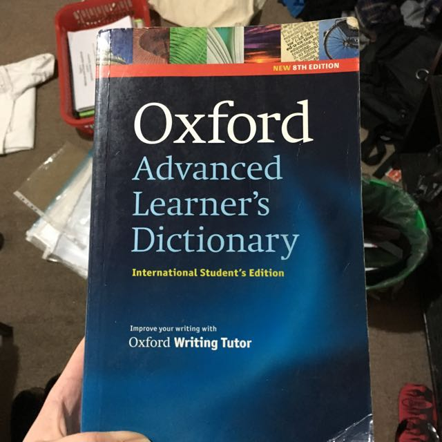 oxford advanced learned dictionary