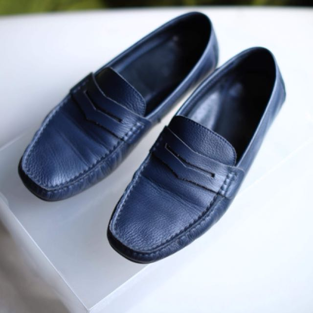 Pabder Navy Loafers