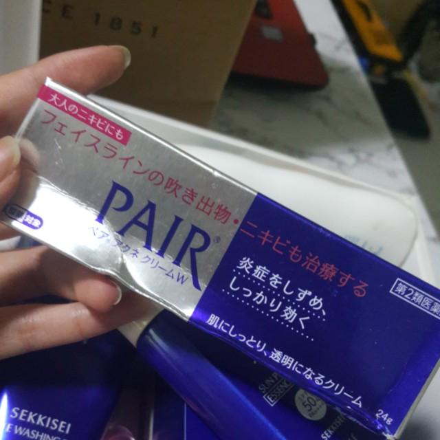 pair lion pimple cream