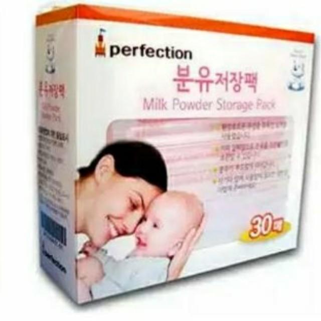 拋棄式一次性奶粉袋perfection韓國進口 30枚