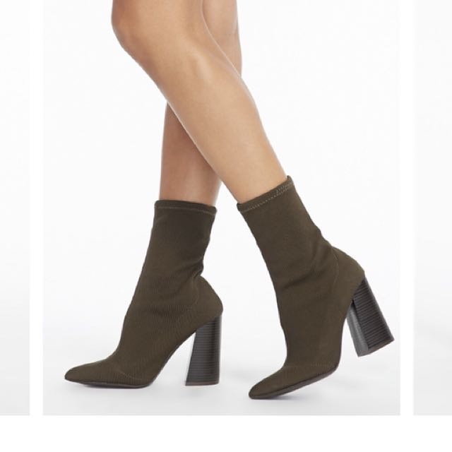POINTED TOE SOCK BOOTIES