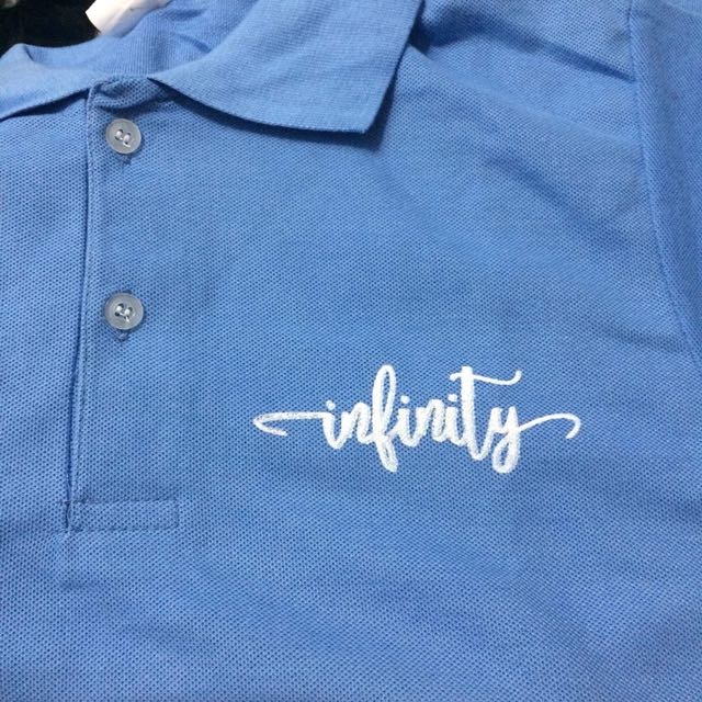 Polo shirt w/ Silk Screen Printing