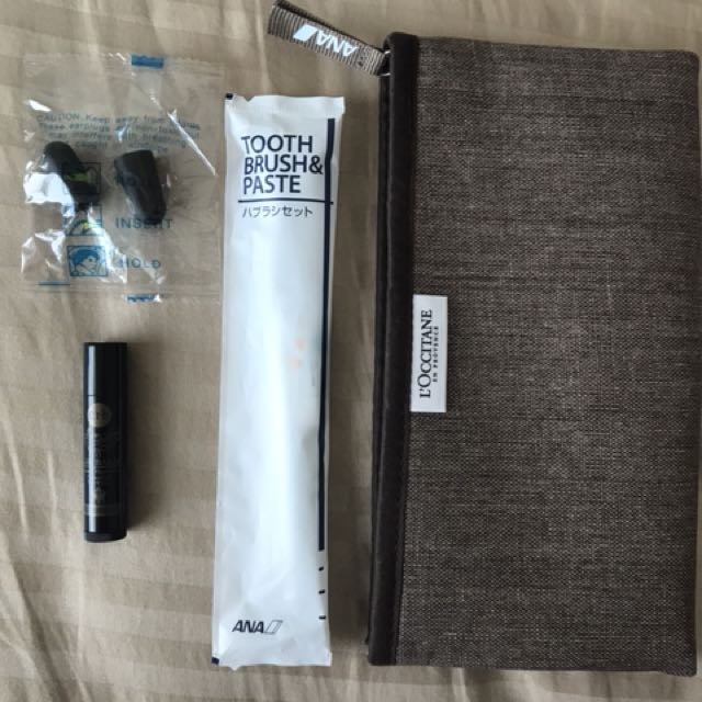 Pouch travel kit