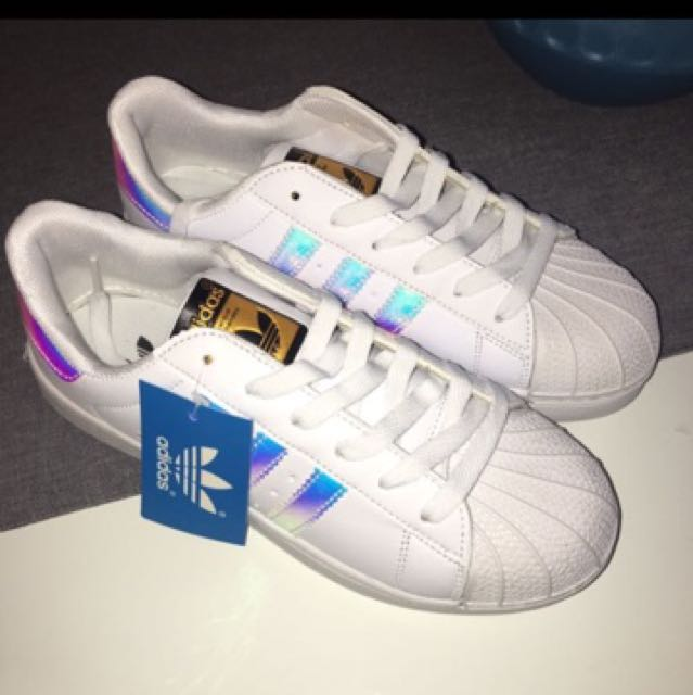PRICE REDUCED!!Adidas original holographic