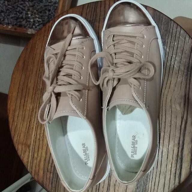 Pull And Bear Pink Shoes