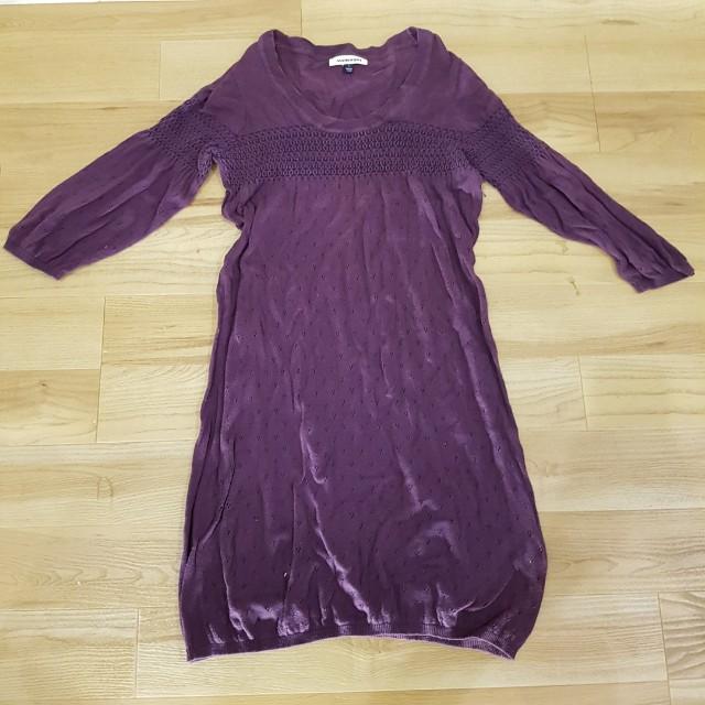 Purple Autumn Dress