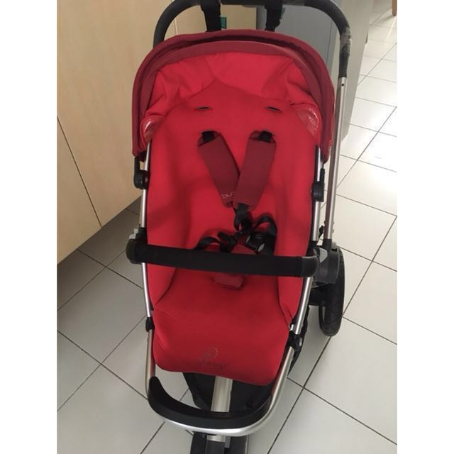Quinny Buzz Stroller Red