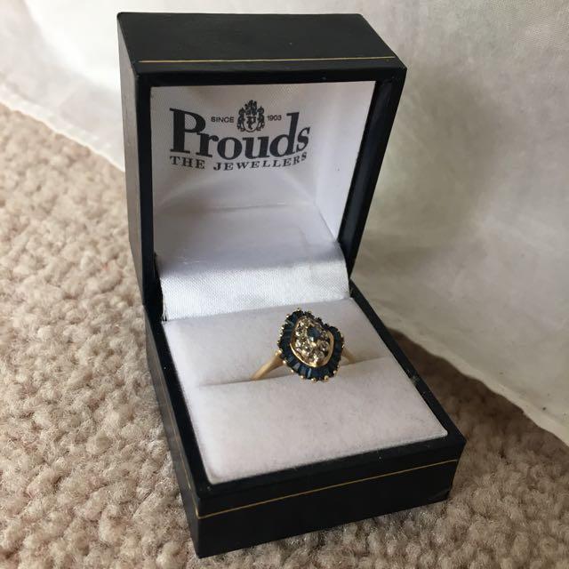 Ring stamped 375