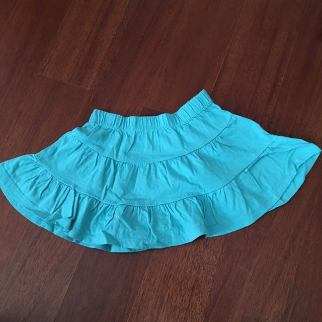 Rok Mothercare hijau tosca/turquoise 1.5-2thn