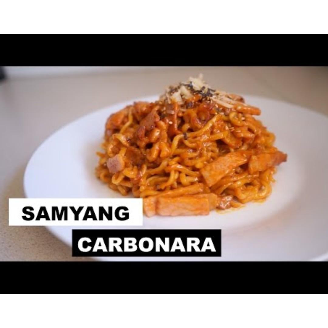 Samyang Carbonara