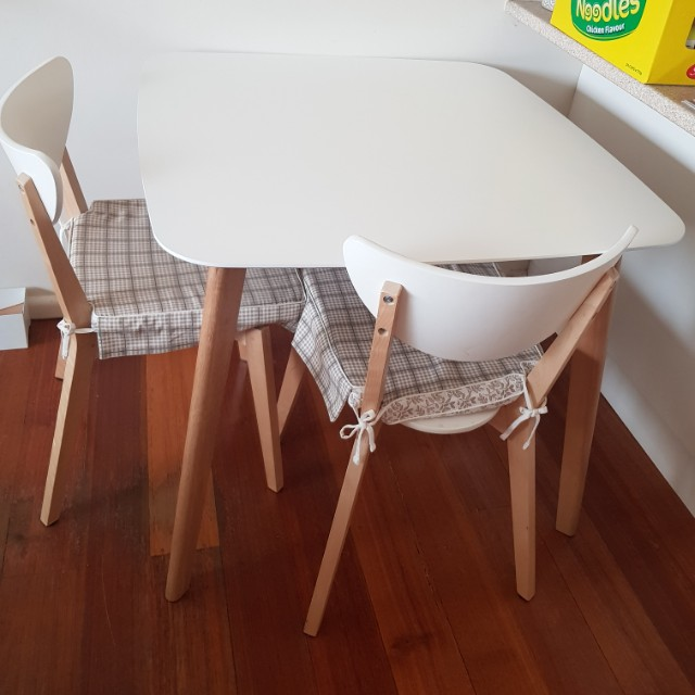 Scandi Dining Table and Chairs