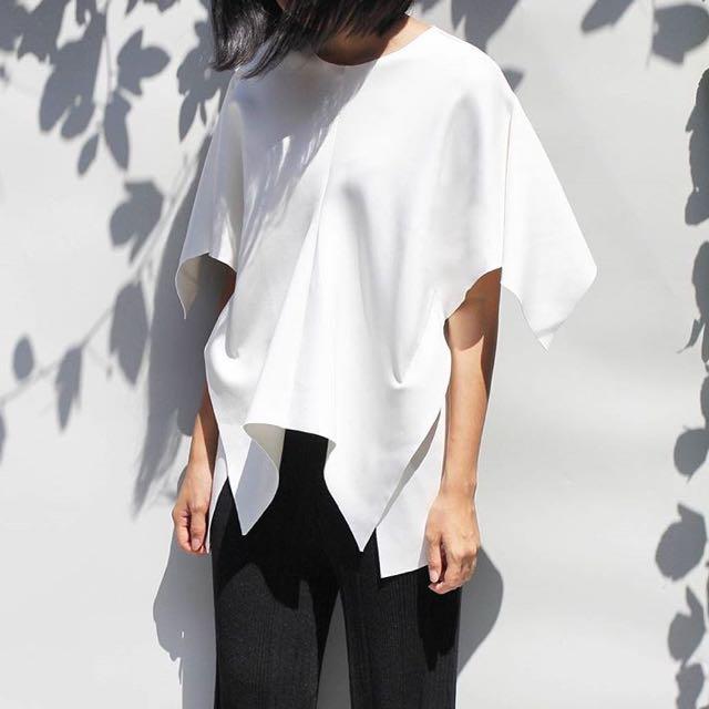 Sevrel label white top (harga nett)