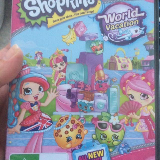 Shopkins New Release DVD