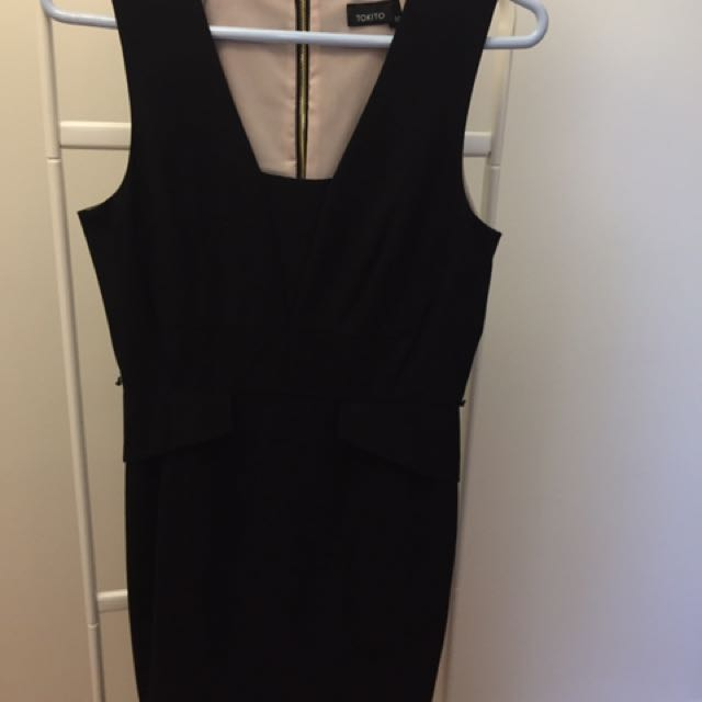 Sleeveless work dress