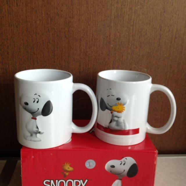 Snoopy 史努比馬克杯 咖啡杯 陶瓷杯