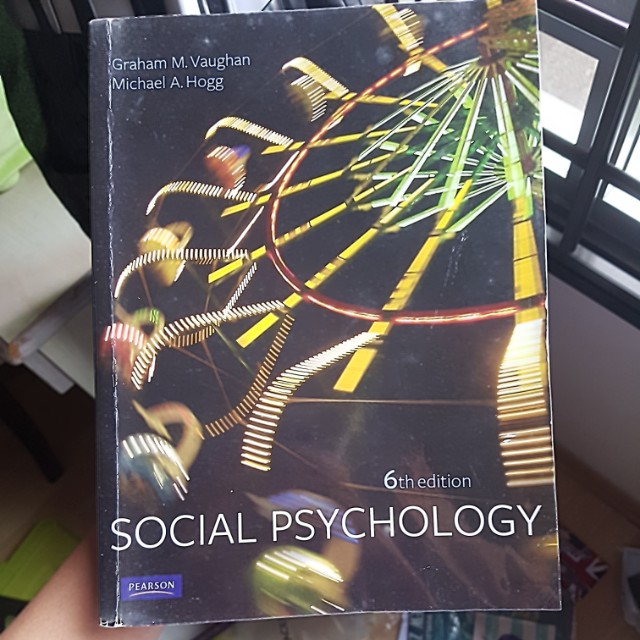 Social psychology 6th edition vaughan hogg books stationery photo photo photo fandeluxe Gallery