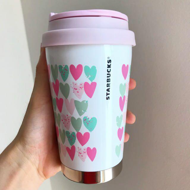 Starbucks Valentine metal thermos