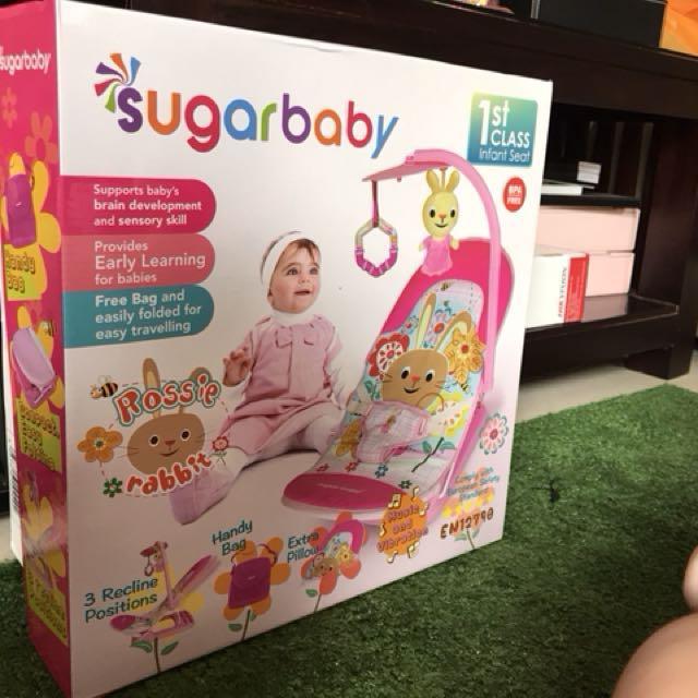 Sugar Baby Infant Seat NEW ada Mainan nya