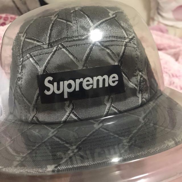 Supreme 五分割帽 二手 戴不超過五次