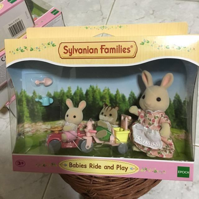 Sylvanian Babies ride