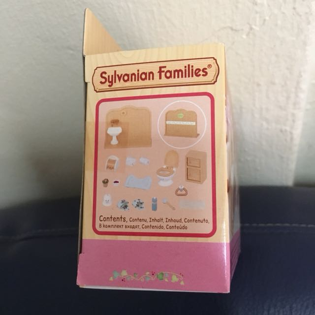 Sylvanian Toilet Set