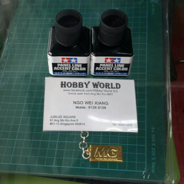 Tamiya Panel Line Accent Color [Black] 40ml jsnss