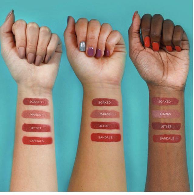 Tarte limited edition mermaid kisses lipstick set