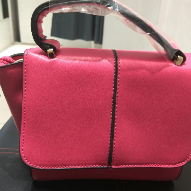 Tas pink new