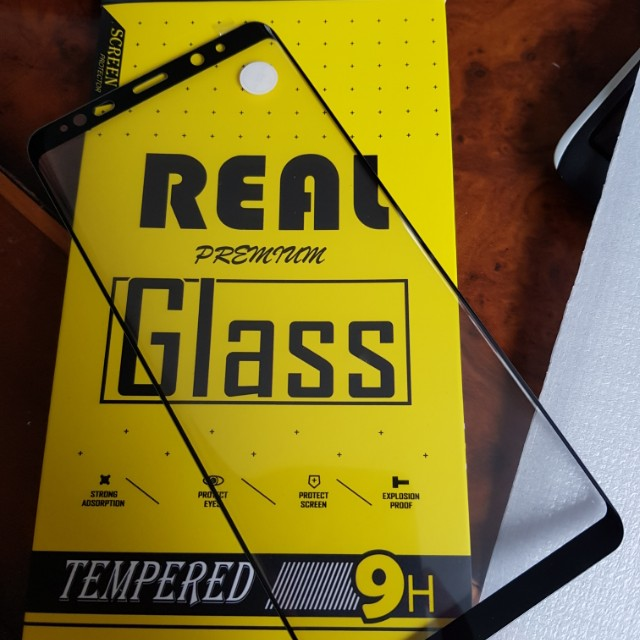 TEMPERED GLASS SAMSUNG NOTE 8