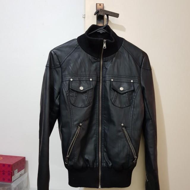 TEMT leather jacket