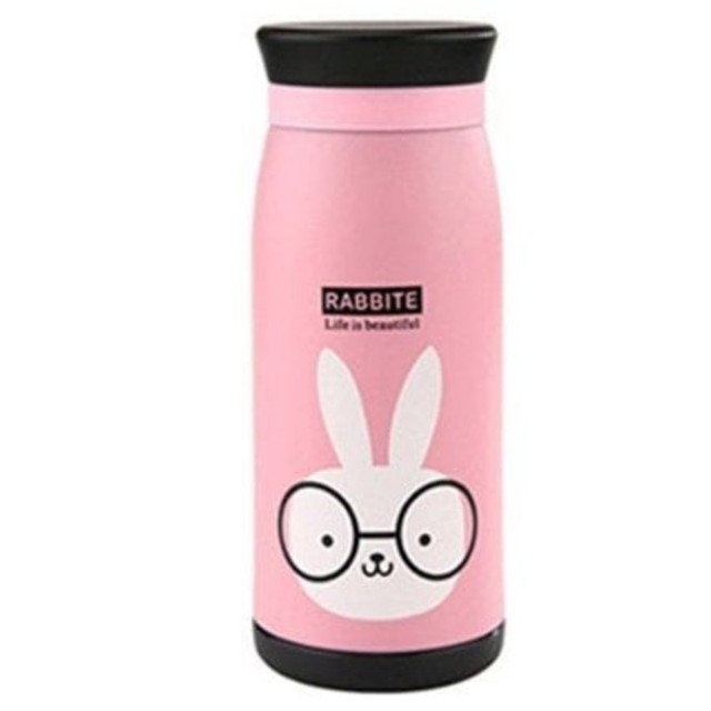 TERMOS Animal Life is Beautiful PINK Rabbit