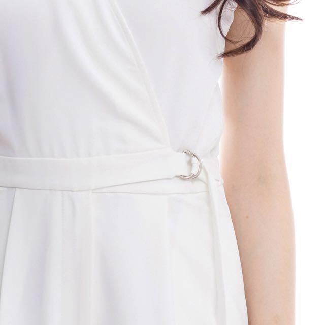 The Closet Lover *Premium* On-Point Jumpsuit In White