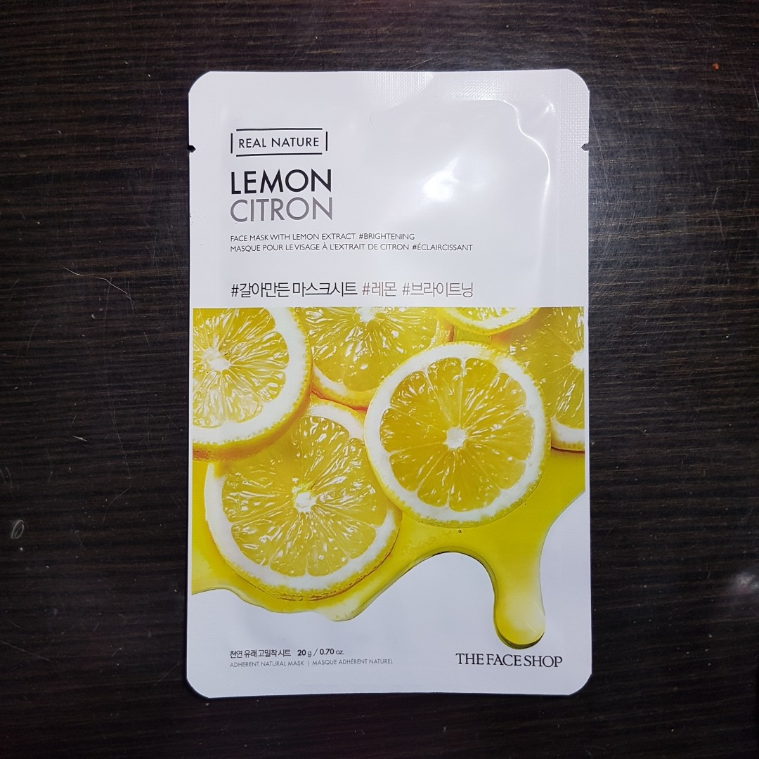 The Face Shop Real Nature Lemon