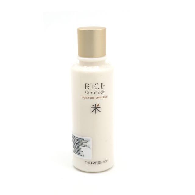 The Face Shop Rice Ceramide Moisture Emulsion